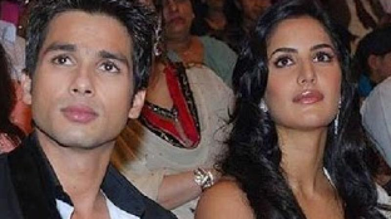 Shahid and Katrina are yet to star in a film together.
