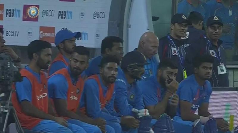 Virat Kohli had asked permission to ICC's Aniti Corruption and Security Unit (ACSU), and had been granted to use it. (Photo: Screengrab)
