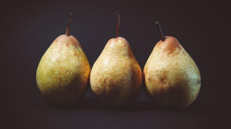 Pear-enriched diet could have probiotic benefits, new study claims. (Photo: Pexels)