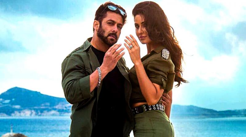 Salman and Katrina in a still from 'Tiger Zinda Hai'.