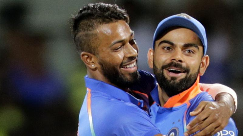 Although Virat Kohli had a quiet series with the bat, one player who caught the eye was all-rounder Hardik Pandya, producing outstanding displays with both ball and bat. (Photo: AP)