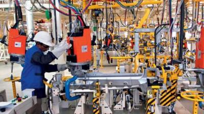 According to data released by the Ministry of Statistics and Programme Implementation, industrial output grew at 3.3 per cent in April-July period this fiscal, down from 5.4 per cent growth in the same period a year ago. (Representational image)