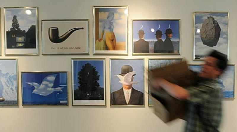 Magritte spent most of his life in Brussels, where he gained success for his philosophical paintings between the 1930s and 1960s. (Photo: AFP)
