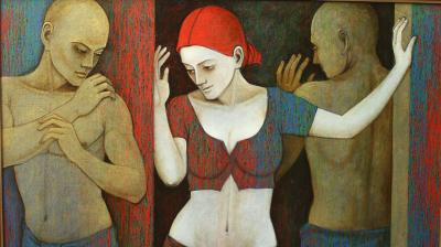 Exhibition by Asit Kumar Patnaik's recent paintings promises to showcase men and women trying to figure each other out. The exhibition that will be on from January 30 to February 5 will stay open all days from 11am to 7pm