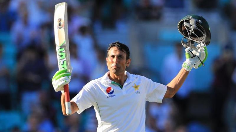 Younis revealed he had earlier decided that whenever he reaches 10,000 runs, he would auction his bat to the organisation. (Photo: AP)