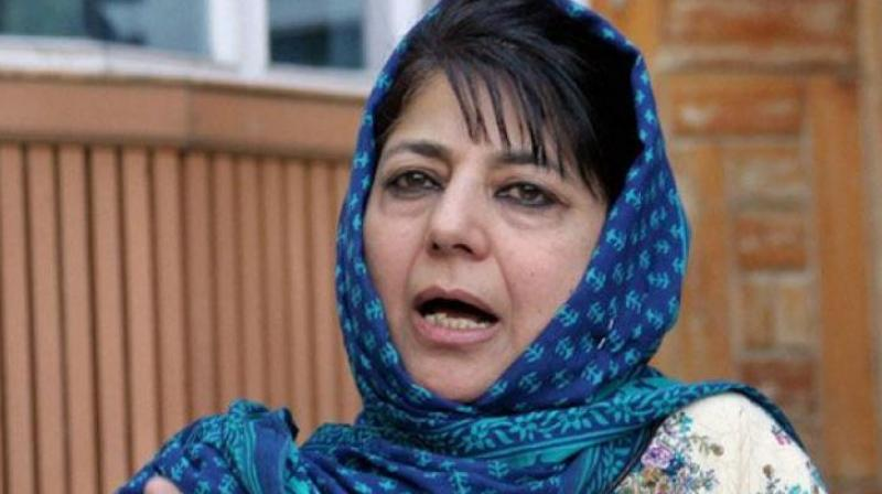 Mufti's remark comes after the Prime Minister, in a rally at Kathuaearlier in the day, claimed that the Abdullah family (National Conference) and Mufti family (PDP) destroyed the lives of three generations in the state.  (Photo: PTI)