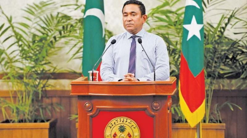 Maldivian President Abdulla Yameen has grown close to China and Saudi Arabia during his tenure, with both countries investing heavily in the tiny island nation. (Photo: AP)