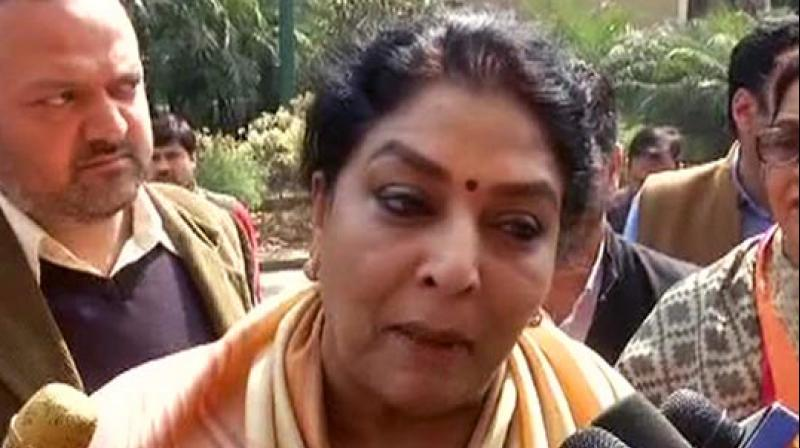 Hitting out at Kiren Rijiju over his social media post, Renuka Chowdhury said, 'This is degrading to a woman and highly objectionable.' (Photo: ANI)