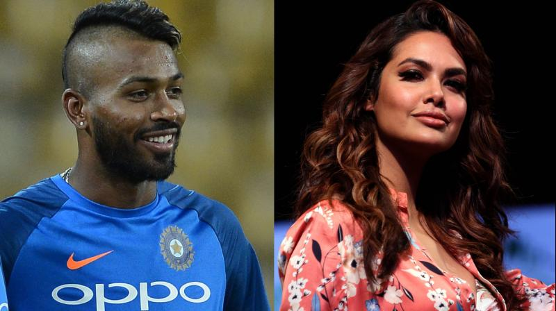 The flamboyant all-rounder was also rumoured to be dating Urvashi Rautela right after Elli, but things sparked off instantly when he met Esha. (Photo: AFP)