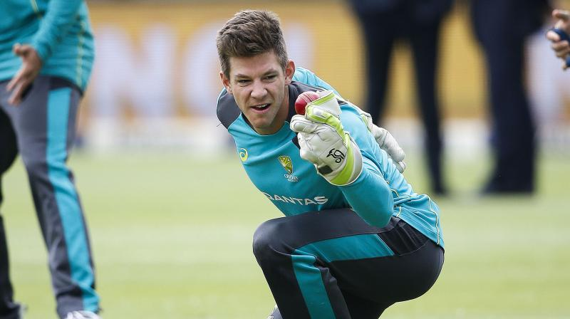 Australia skipper Tim Paine says he is sick of all the ball-tampering talk and it is time to move on and focus on halting powerhouse India from winning their first Test series Down Under. (Photo: AFP)