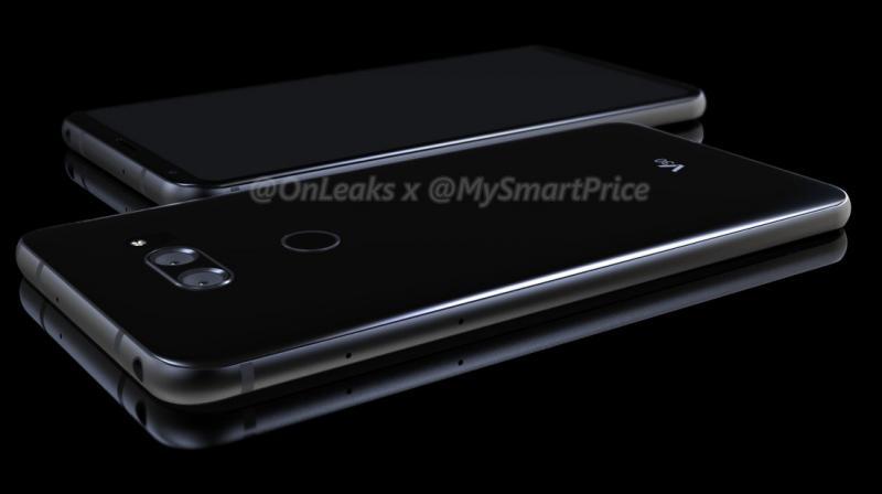 LG V30 leaked image (Photo: @onleaks/Twitter)