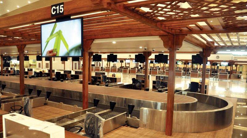 advanced baggage scan at cochin international airport