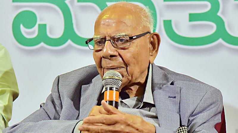Senior advocate Ram Jethamalani. (Photo: FIle)