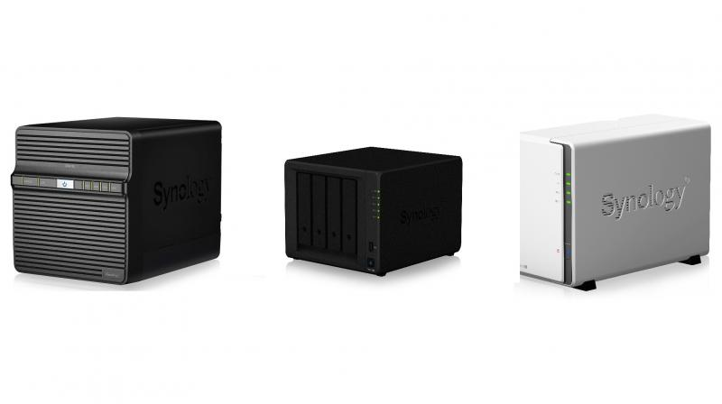 Synology's new DS418j, DS918+, DS218j entry-level NAS servers.
