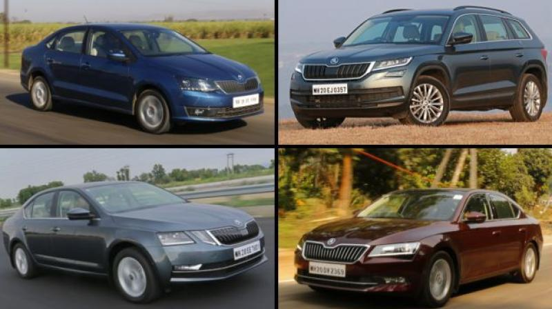 MY2018 Rapid gets benefits of upto Rs 1 lakh along with Skoda Maintenance Package at Rs 9,999.