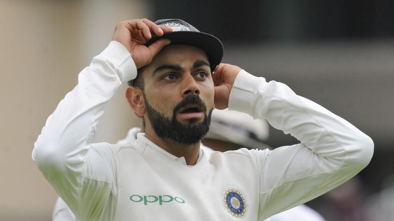Kohli, while launching his official app on his 30th birthday recently, read out a comment where one of his fans called him 'over-rated'. (Photo: AP)