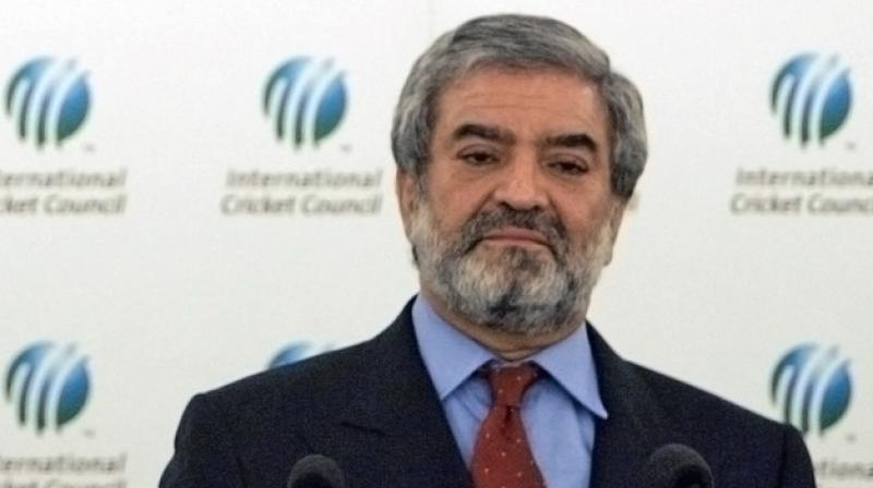 The Pakistan Cricket Board (PCB) Chairman Ehsan Mani wants the ICC to help restore his country's bilateral playing ties with India, saying that it is the world body's responsibility. (Photo: AFP)