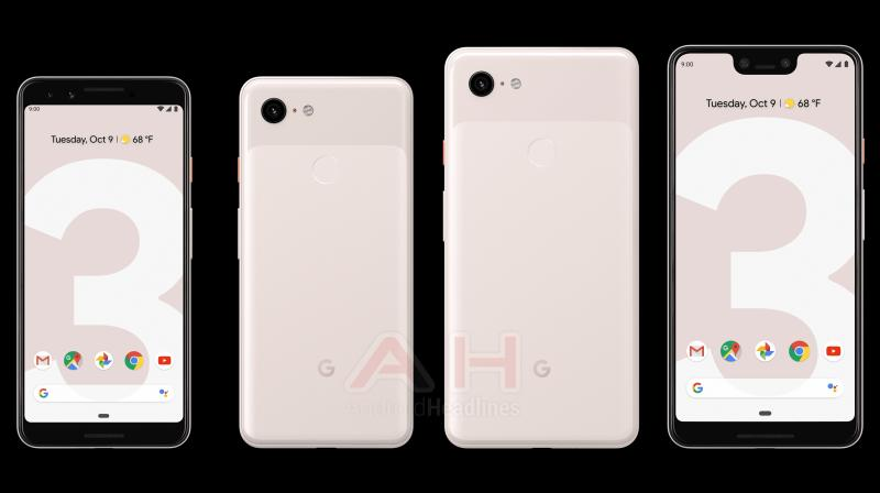 Google will bring in a new pink colour, expected to be called 'Sand', on the Pixel 3 series.