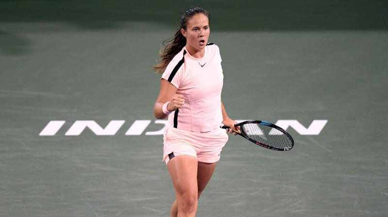 Giant-slaying Kasatkina upstages Venus to reach Indian Wells final