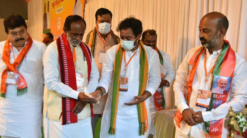 Telangana laughing stock of India due to KCR at helm