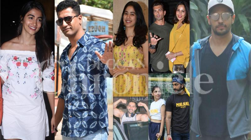 Stylish Bollywood: Varun, Vicky, Janhvi others step out in style
