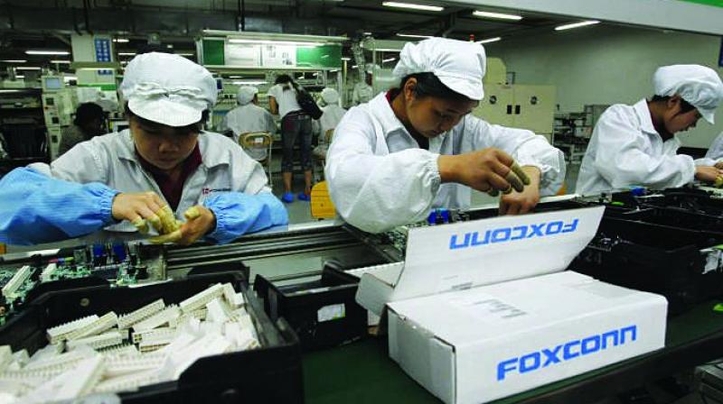Foxconn, also known as Hon Hai Precision Industry Co, opened its first India factory four years ago. It now operates two assembly plants, with plans to expand those and open two more. India has become an important manufacturing base as the Taipei-based company looks to diversify its operations beyond China.