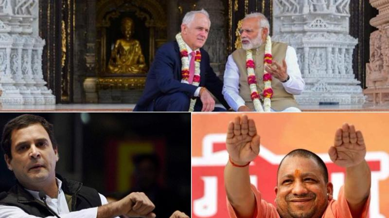 Funny frames with leaders in it. (Photo: PTI) (Disclaimer: These pictures are for entertainment purpose only)
