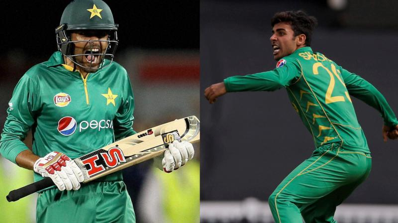 Opener Babar Azam struck a half-century and leg-spinner Shadab Khan claimed three wickets as Pakistan secured a 3-0 T20 series whitewash over Australia with a 33-run victory in Dubai. (Photo: AP)
