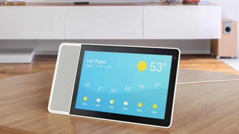 With the launch of the smart speaker bearing a screen, Google is foreseeing to ship 3 million units. (Representational Image/Source: Lenovo)