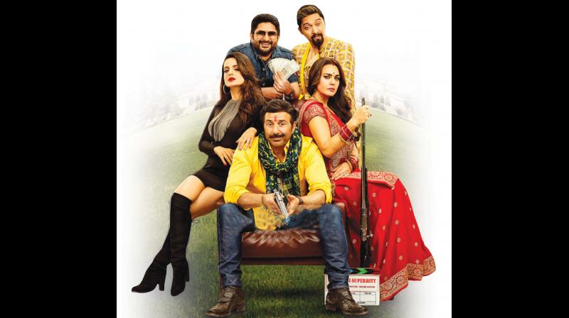 Bhaiaji Superhit is so superficial it practically evaporates before your eyes.