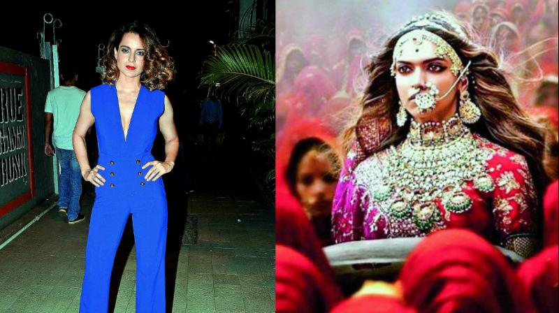 Padmavati row: Kangana Ranaut will not support Deepika