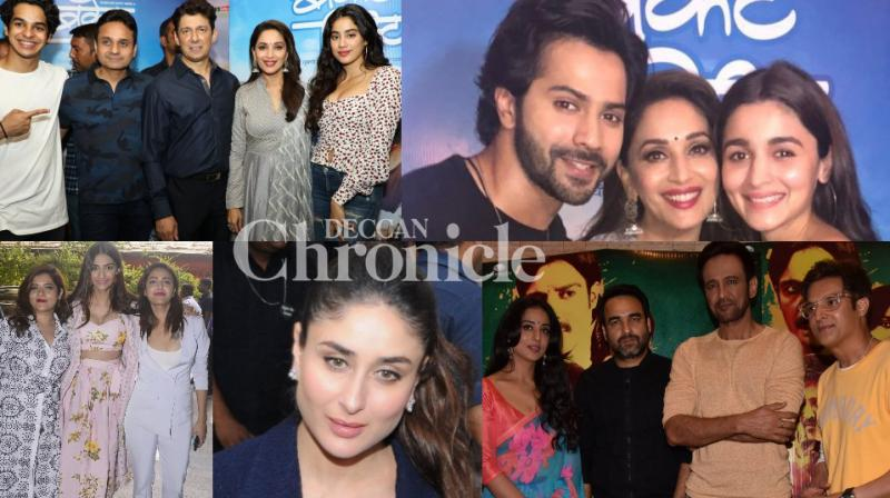 Bollywood celebrities attended various events in Mumbai as a part of their upcoming films in Mumbai on Wednesday. (Photo: Viral Bhayani)