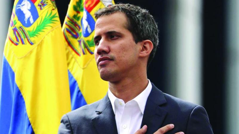 Venezuela's opposition leader Juan Guaido. (Photo: File)