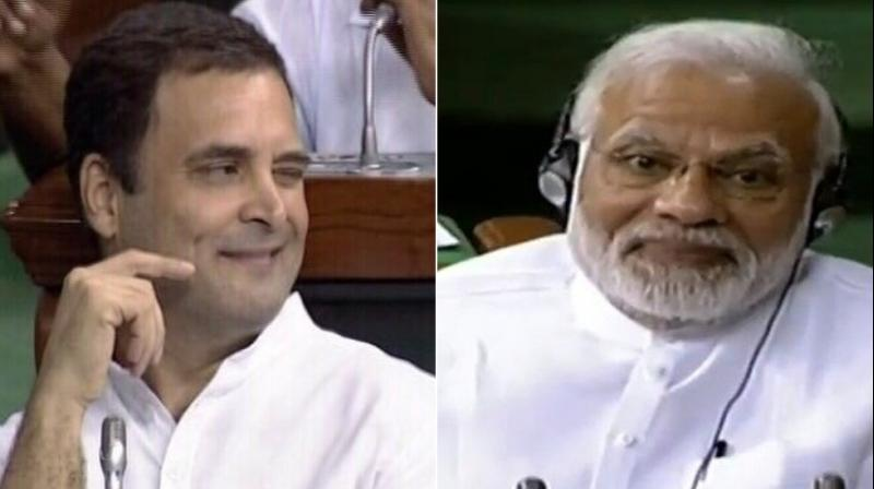 Congress President Rahul Gandhi made these comments while addressing social media workers of the Congress in Amethi on Monday night. (Photo: File | LSTV grab)