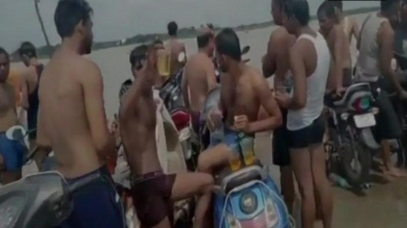 These pilgrims, majority of who are young men, visit Haridwar, Gaumukh and Gangotri in Uttarakhand and Sultanganj in Bihar to fetch waters of River Ganga.  (Photo: ANI)