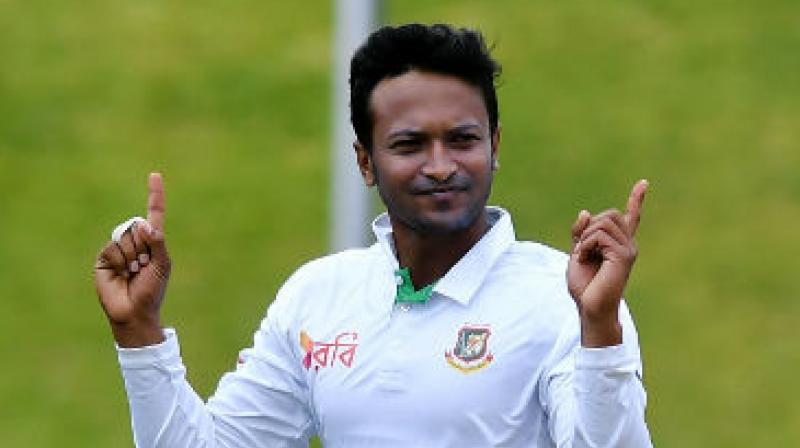 After facing a 224-run defeat against Afghanistan in the one-off Test match, Bangladesh skipper Shakib Al Hasan has expressed unwillingness to lead the team. (Photo:AFP)