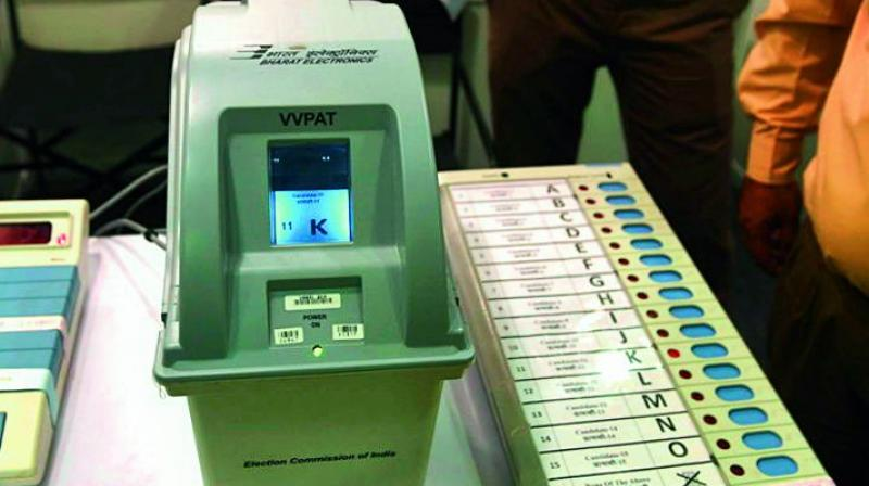 As per ECI guidelines, unused EVMs will be transported and stored, under armed guard, at the AMC godown located in Kandlakoya, Medchal mandal, Medchal-Malkajgiri district, which has been classified as a State Central Warehouse.