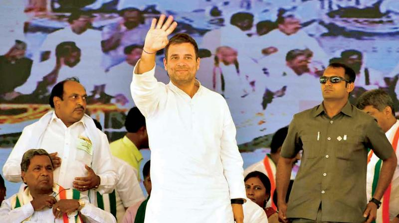 Congress president Rahul Gandhi said on Thursday that Minimum Support Prices (MSP) would also be announced in the separate farmers' budget which his party's manifesto has promised. (Photo: File)