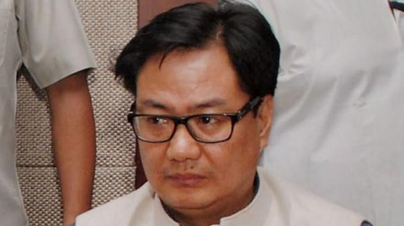 Union minister Kiren Rijiju (Photo: PTI/File)