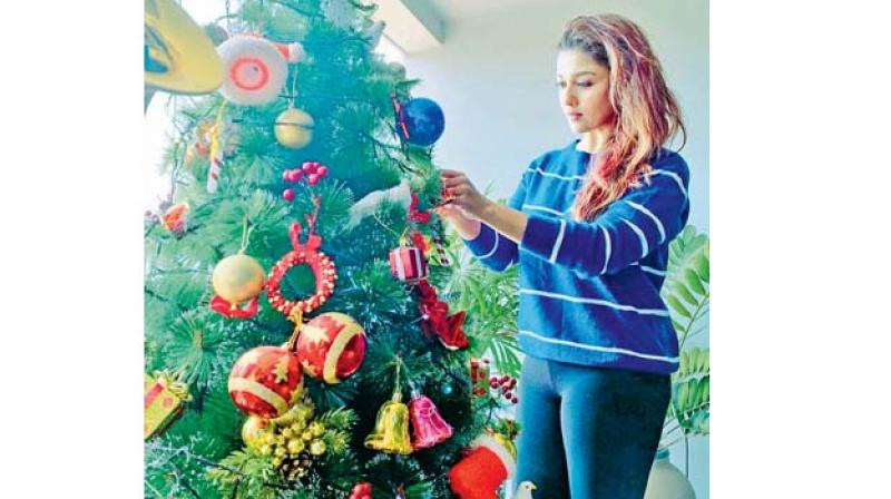Nayanthara 2020 Christmas Pictures Nayanthara and Vignesh Shivn wish fans Merry Christmas