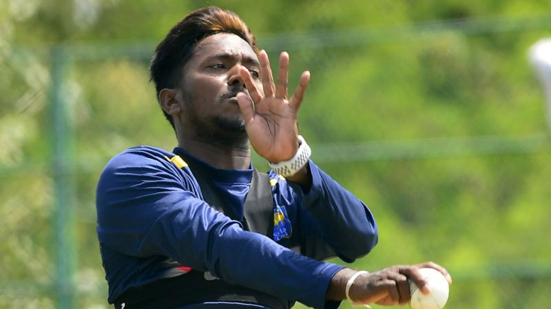 Giving out further information in the matter, Sri Lanka team manager Jeryl Woutersz said that the right-arm bowler would leave for the bowling action test after the second match adding that Dananjaya might not be able to come back in time for the third Test. (Photo: AFP)
