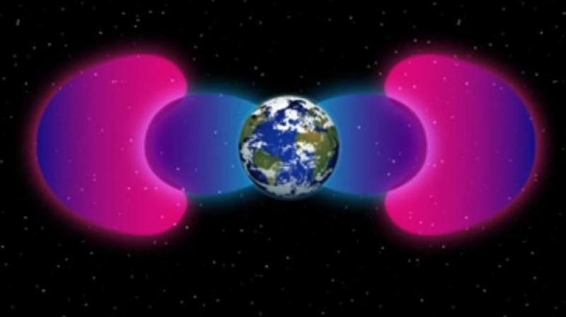 A certain type of communications—very low frequency (VLF) radio communications—have been found to interact with particles in space, affecting how and where they move. (Photo: NASA)