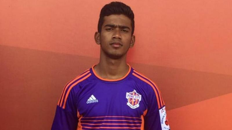 Kuruniyan hopes to improve his game and move up from Villarreal's third team (Photo: FC Pune City)