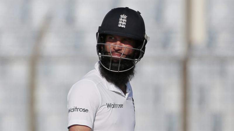 Moeen, who was a member of England's World Cup-winning squad, has been replaced by Somerset left-arm spinner Jack Leach for the Lord's Test. (Photo: AP)