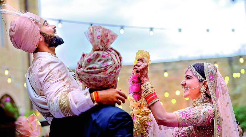 Virat Kohli-Anushka Sharma wedding: The journey in pictures