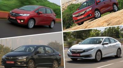 Honda is offering the maximum benefit of Rs 5 lakh on its flagship SUV, the CR-V.