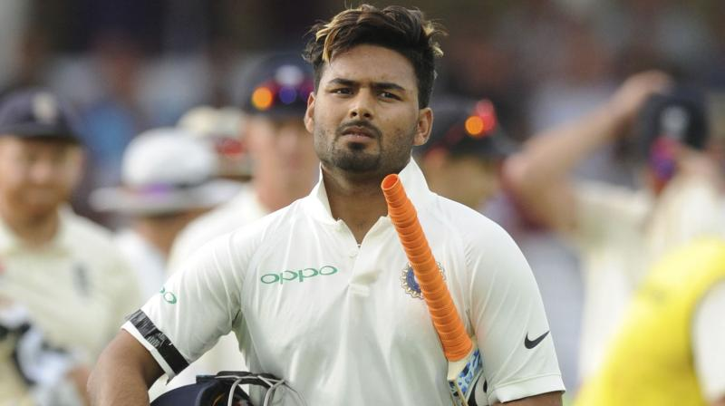 Rishabh Pant did not trouble the scorers as he failed to open his account on Day two of the fourth England versus India Test in Southampton. (Photo: AP)