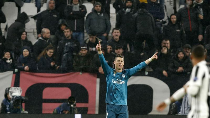 Champions League Ronaldo S Bicycle Kick Goal Helps Real Madrid Bury Juventus