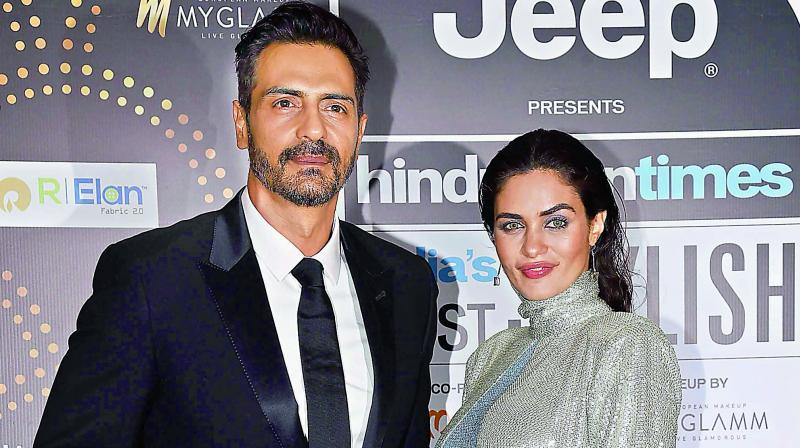 Arjun Rampal introduces son to the world
