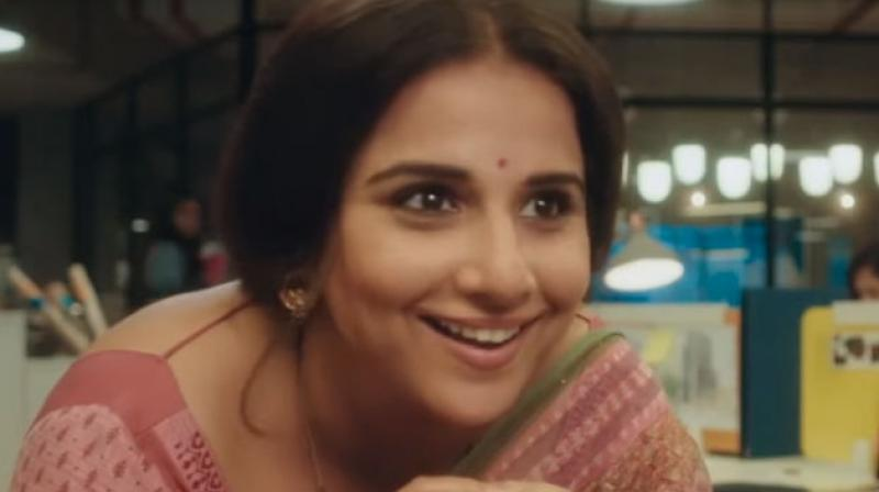 Vidya Balan is currently gearing up for the release of her next, Tumhari Sulu.